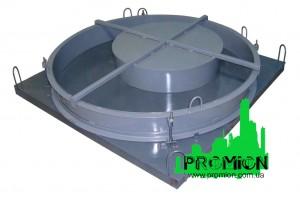 Форма для производства крышек и днищ колодезных колец
