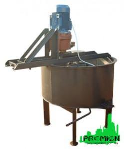 Бетоносмеситель принудительного типа БС-250 для бетона и растворов