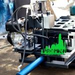 пресс на дизельном двигателе